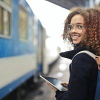 digitaal op de trein