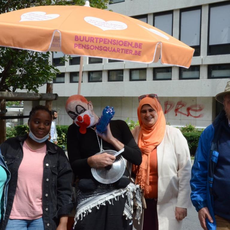 deelnemers van de actie