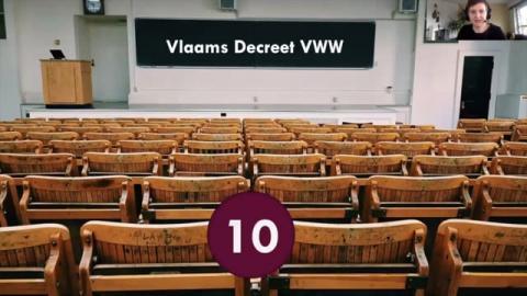 Stap 10: Vlaams Decreet Vrijwilligerswerk | In deze video staan we stil bij het Vlaams decreet vrijwilligerswerk.