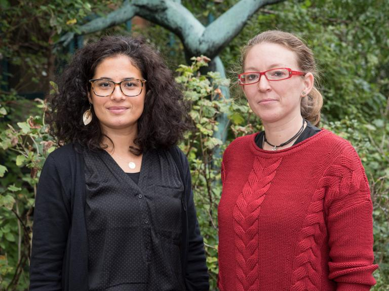 Sara en Fatma