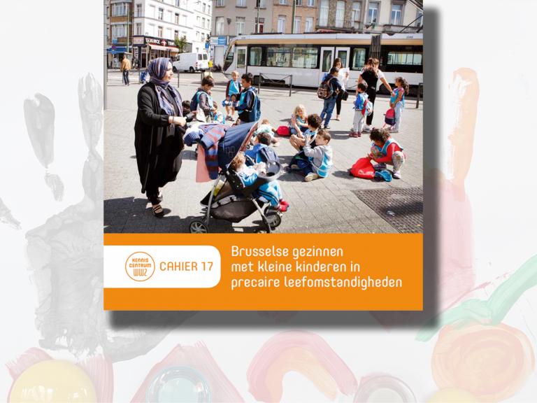 Cover cahier Brusselse gezinnen met kleine kinderen in precaire leefomstandigheden